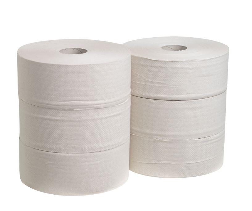 Jumbo-Rolle-Toilettenpapier 1-lagig